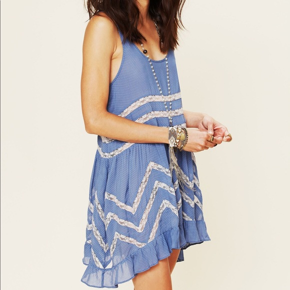 Free people intimately Voile and Lace dress
